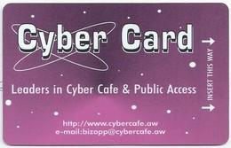 ARUBA. CYBER CARD. Leaders In Cyber Cafe & Public Access. 2 Scans - Aruba