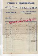 87 - AUX PLACES PAR SAINT HILAIRE LES PLACES- FACTURE VILLARD- FORGE CHARRONNAGE- DUDOGNON - 1932 - Old Professions