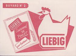 "BUVARD ""LIEBIG"" N° 2 - Potages & Sauces"