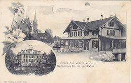 Gruss Aus Muri Mit Gasthof Sternen & Station - 1921          (P-101-60725) - BE Berne
