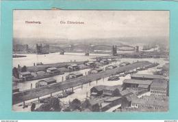 Old Postcard Of Die Elbbrucken,Hamburg,Germany.Y48. - Allemagne