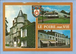 Le Poiré-sur-Vie (85) Château De Pont-de-Vie Général De Charette 2 Scans Chaussures Restaurant Du Centre Tabacs Journaux - Poiré-sur-Vie