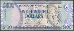 TWN - GUYANA 36b1 - 100 Dollars 2009 Prefix B/14 - Signatures: Williams & A. Singh UNC - Guyana