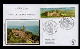 DF / FRANCE FDC DU TP 3245 CHÂTEAU DU HAUT-KOENIGSBOURG / OBL. 1er JOUR : 67 SÉLESTAT 15.05.1999 - Lettres & Documents