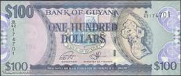 TWN - GUYANA 36b2 - 100 Dollars 2012 Prefix B/62 - Signatures: Williams & A. Singh UNC - Guyana