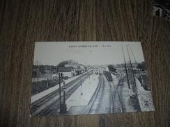 Saint André Le Gaz La Gare  Train Locomotive - Francia