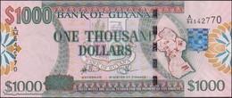 TWN - GUYANA 38b - 1000 1.000 Dollars 2009 Prefix A/94 - Signatures: Williams & A. Singh - Printer: DLR UNC - Guyana