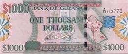 TWN - GUYANA 39b - 1000 1.000 Dollars 2009 Prefix A/94 - Signatures: Williams & A. Singh - Printer: DLR UNC - Guyana