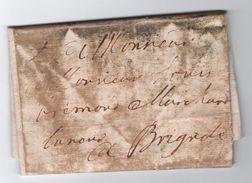 1749 - LETTRE De LE LUC Pour BRIGNOLES (VAR) - 1701-1800: Precursores XVIII