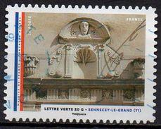 "AA1206 - Série "" Les Mairies : Sennecey Le Grand "" - Oblitéré  - 2015 - Gebruikt"