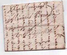1738 - LETTRE De BEAUCAIRE (GARD) Pour BRIGNOLES (VAR) - 1701-1800: Precursors XVIII