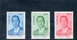 MAROC 1957 ** 2 SCAN - Marruecos (1956-...)
