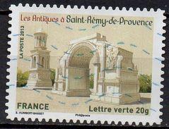 """AA874 - Série Patrimoine : """" Les Antiques à Saint Rémy - Oblitéré - 2013 - Gebruikt"""