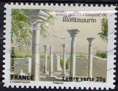 AA876 - Série Patrimoine : Villa Gallo-romaine De Montmaurin - Oblitéré - 2013 - Gebruikt