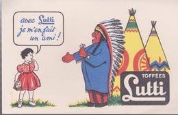 "BUVARD "" TOFFEES LUTTI"" - Sucreries & Gâteaux"