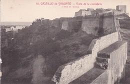 SPAIN ESPAGNE, CASTILLO DE SAGUNTO.VISTA DE LA CIUDADELA. I ROLSIN FOT. CIRCA 1910s -BLEUP - Châteaux