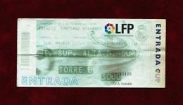 Real Madrid - Alavés (Ticket) Año 1999 - Tickets - Entradas