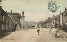 RAUCOURT PLACE DE LA MAIRIE - France