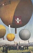 Gordon-Bennett-Wettfliegen - Ballon Des Schweiz. Aeroclub Beim Start       (P-101-60725) - Globos