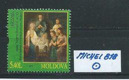 MOLDAWIEN  MICHEL 818 Rundgestempelt Siehe Scan - Moldawien (Moldau)