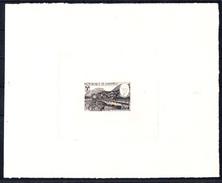 DAHOMEY - N° 263 - JEUX OLYMPIQUES DE GRENOBLE 1968 - EPREUVE D'ARTISTE - ETAT - PIERRE DE COUBERTIN EN MEDAILLON. - Inverno1968: Grenoble