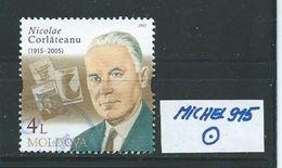 MOLDAWIEN  MICHEL 915 Rundgestempelt Siehe Scan - Moldawien (Moldau)