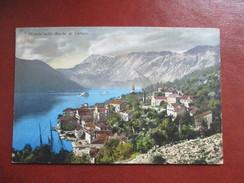 CPA MONTENEGRO PERASTO NELLE BOCCHE DI CATTARO - Montenegro