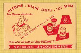 BUVARD : Bledine Lait ALMA 3 Produits JACQUEMAIRE - Dairy