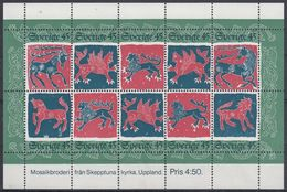 SUECIA 1974 HB - 6 NUEVO - Blocks & Sheetlets