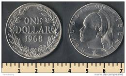 Liberia 1 Dollar 1968 - Liberia