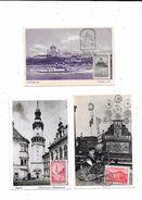 10314 - Lot De 3 CPA De HONGRIE,,oblitérations De Complaisance, Philatélie - Hongrie