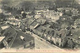 -dpts Div.-ref-WW169- Vosges - Granges Sur Vologne - Centre Ville Vu Du Clocher - Cafe - Boulangerie Epicerie - Usine - - Granges Sur Vologne
