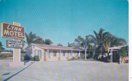 Florida St Petersburg Lynn Motel 1960 - St Petersburg