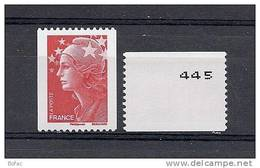 "4240  **  FRANCE  Y  &  T  ""Marianne De Beaujard""  01/20 - Roulettes"