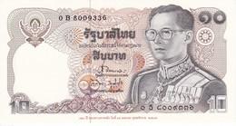 BILLETE DE TAILANDIA DE 10 BAHT DEL AÑO 1995 120 AÑOS DEL MINISTERIO DE FINANZAS  (BANKNOTE) SIN CIRCULAR-UNCIRCULATED - Tailandia