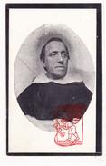 DP Foto Z EH Priester Constant Marie Hiertz ° Lanaken 1842 † Klooster Couvent Brussel 1920 - Images Religieuses
