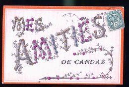 CANDAS CARTE RARE AVEC PERLES - Francia