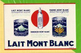 Buvard & Blotting Paper :  Lait Mont Blanc  Farine Mont Blanc - Dairy