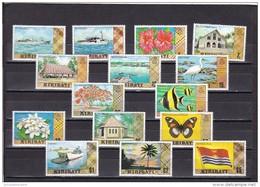 Kiribati Nº 3 Al 16 Y 32 - Kiribati (1979-...)