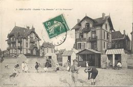 CPA Houlgate Chalets La Mouette Et Le Vanneau - Houlgate