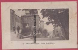 25 - MONTBELIARD---Porte Du Chateau---animé - Montbéliard