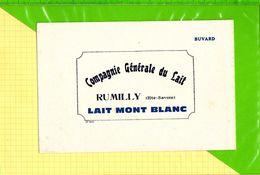 BUVARD & Blotting Paper : Compagnie Generale Du Lait  RUMILLY  Lait Mont Blanc - Dairy