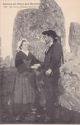 Postcard Amour Au Pays Des Menhirs Collection H Laurent Port Louis  My Ref  B11738 - Dolmen & Menhirs