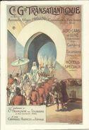 Compagnie Générale Transatlantique , ( CPM ) Reproduction D'une Affiche Par BUTNER THIERRY , 1910 - Illustrators & Photographers