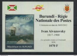 U59. Burundi - MNH - Art - Ivan Aivazovsky - 2012 - Deluxe - Arts