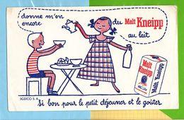 Buvard & Blotting Paper : Le Malt KNEIPP Au Lait - Dairy