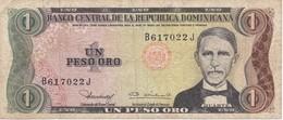 BILLETE DE LA REPUBLICA DOMINICANA DE 1 PESO ORO DEL AÑO 1980  (BANKNOTE) - Dominicana