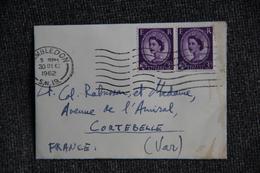 Lettre De GRANDE BRETAGNE ( WIMBLEDON ) Vers FRANCE - 1952-.... (Elizabeth II)
