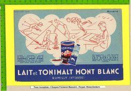 BUVARD : Lait TONIMALT MONT BLANC Rumilly Hte SAVOIE Decor Sport - Dairy