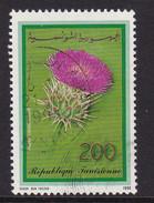 Tunesien 1990 Mi-Nr. 1220 Blumen Gestempelt, Siehe Scan - Tunesien (1956-...)